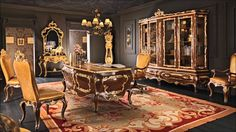 Resultado de imagen para old rich house interior