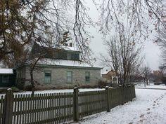 First snowfall of the season, November 17, 2014