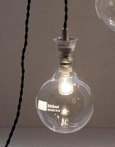 conical flask light globe