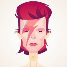 David Bowie by Stanley Chow