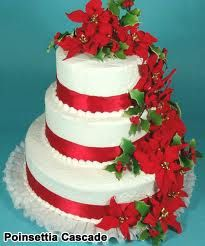 poinsettia wedding bouquet - Google Search