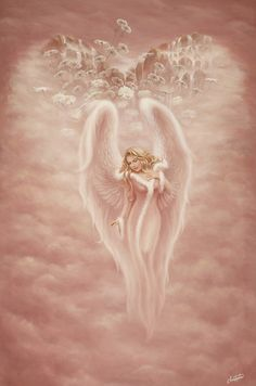 Paintings+Guardian+Angel | guardian angel by christopherpollari traditional art paintings fantasy ...