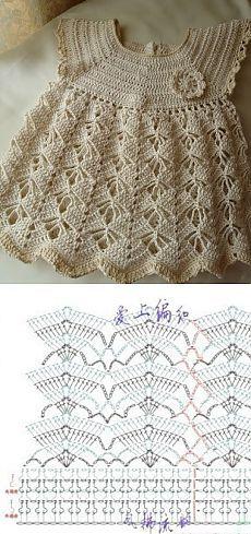 Puntos de crochet para vestidos