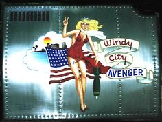 WWII inspired custom art, based on B-17 of the same name. On aircraft grade metal.