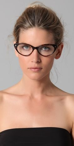 Tom Ford Cat Eye Glasses in Animal - Lyst New Glasses, Cat Eye Glasses, Girls With Glasses, Ray Ban Sunglasses Sale, Sunglasses Outlet, Sports Sunglasses, Sunglasses 2016, Glamour Moda, Beauty Makeup