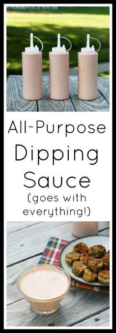 The best all-purpose dipping sauce - goes great on pretty much anything! Click through for simple recipe. The best all-purpose dipping sauce - goes great on pretty much anything! Click through for simple recipe. Cheap Meals, Easy Meals, Cheap Recipes, Sauce Recipes, Cooking Recipes, Dip Recipes, Recipies, Chimichurri, Sauce Carbonara