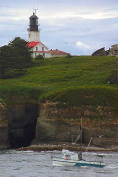 Cape Flattery Lighthouse, Washington at Lighthousefriends.com  You can see the lighthouse if you go to Neah Bay and walk the Cape Flattery Trail. The history of this lighthouse is on this  link with all the other Washington State Lighthouses.