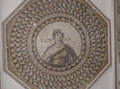 Portrait mosaic at the Zeugma Mosaic Museum