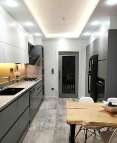 Modern Kitchen Cabinets, Living Room, Table, Furniture, Choices, Flat Screen, Home Decor, Kitchen, Kitchens