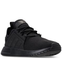 finest selection f8223 e0444 adidas Boys X-plr Casual Athletic Sneakers from Finish Line - Black 6.5 Big