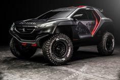 Peugeot Dakar Rally Car.  Want.