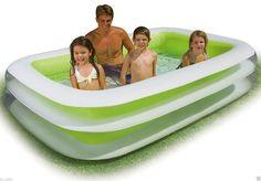 Inflatable Swimming Pool Kid Baby Outdoor Summer Infant Kiddie Water Play Fun #Unbranded