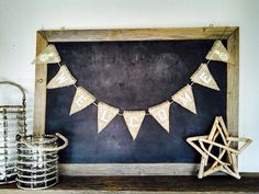 Welcome Burlap Banner Triangle Flag Pennant Bunting Pineapple Home Decor Sign on Etsy, $34.00