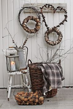 Natural Christmas Decoration by VIBEKE DESIGN