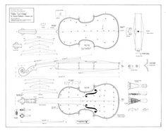 """Violin """"Le Messie"""" by Antonio Stradivari, Cremona 1716 Draw by John Pringle, 1980 The Ashmolean Museum, Oxford Violin Art, Cello, Violin Lessons, Music Lessons, Teaching Orchestra, Stradivarius Violin, Antonio Stradivari, Violin Makers, Electric Violin"""