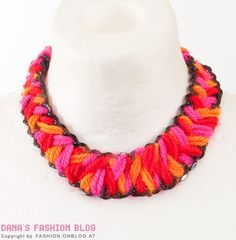 Ethnic Wool necklace