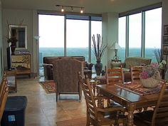 Amazing view from a 7 Riverway Houston condo