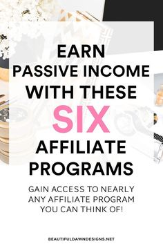 Make affiliate income with these affiliate programs for bloggers. #followback #startup #onlinebusiness