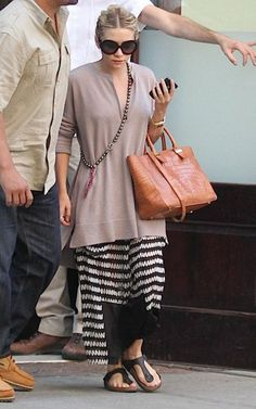 I think this is the first time I have ever disagreed with an outfit choice of hers!