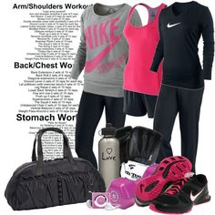 New Year, New workout, created by corrinem1 on Polyvore