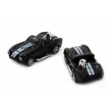 Black Cobra Ac Race Car Cufflinks