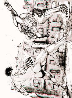 Rogue Titan vs Armored Titan