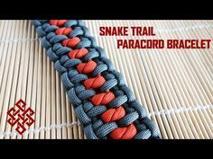 How to Make a Paracord Bracelet Using the Snake Trail Pattern [VIDEO] | Deep Nature Mentoring