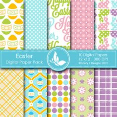 *This listing is for 10 printable High Quality Digital papers.  *Each paper measures 12 x 12 inch, 300 DPI.  *The files are in JPEG format.