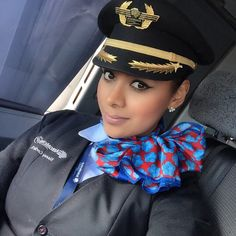 AeroMexico Stewardess
