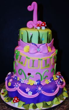 - Tinkerbell Cake