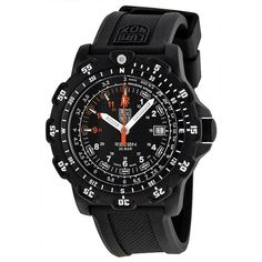 cool Luminox Men's 8821.KM Recon Pointman Black, Rubber Band, With Multi Color Accents Watch  –  Accents