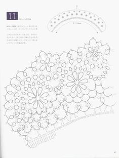 Tatting lace nihon