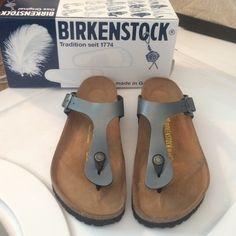 07a0e7d7e50 Birkenstock (ok c est pas sublimissime mais bon c est confortable) - couleur  jolie mais pas noires parce que maman les a déjà - MATTE PAS VERNIS C EST  ...