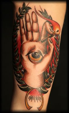 American Traditional Tattoo by Tommy Helm