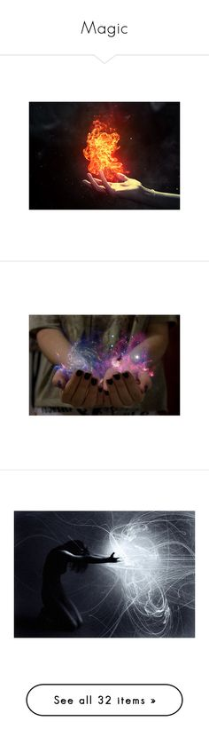 """Magic"" by acegail ❤ liked on Polyvore featuring backgrounds, pictures, fire, powers, photos, fillers, effect, magic, pics and phrase"