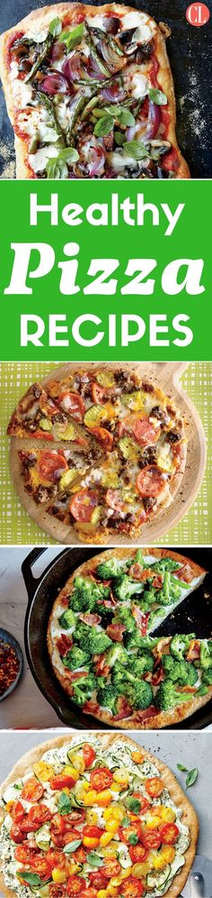 Pizza may be a takeout staple in many households but, once you try our delicious recipes, you may think twice the next time you're about to dial your favorite pizza joint. Dinner time just got a whole lot yummier—and healthier too. | Cooking Light