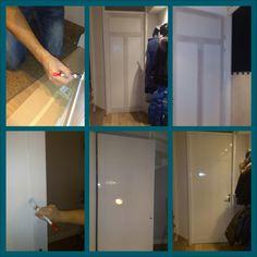 Een aantal maanden geleden schreef Maris op haar blog over een binnendeur die zij voor pak  beet 20 euro veranderde van simpele binnendeur naar paneeldeur. Ik was gelijk razend enthousiast, want da…