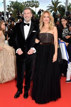 Photo of Family Affair! John Travolta and Kelly Preston Hit the Red Carpet With Their Gorgeous Kids in Cannes John Travolta Kelly Preston, Actor John, Famous Couples, Beautiful Wife, Family Affair, Golden Age Of Hollywood, Bridesmaid Dresses, Wedding Dresses, Cannes Film Festival