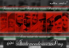 #noblesouls celebrating independence day and think for the actual growth of the nation. www.facebook.com/noblesouls