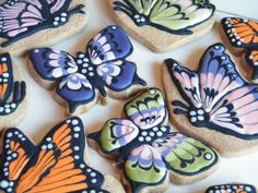 Shortbread decorated cookie art!