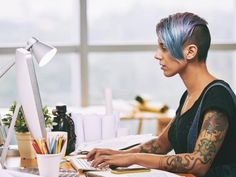 Search from 60 top Drawing Tablet Women pictures and royalty-free images from iStock. Find high-quality stock photos that you won't find anywhere else. Tattoos In The Workplace, Free Programming Books, Tattoo Hurt, Wrist Tattoo, How To Find Out, How To Make Money, Men Dress Up, Find A Job, Business Women