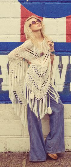 bohemian boho style hippy hippie chic bohème vibe gypsy fashion indie folk look outfit Gypsy Style, Bohemian Style, Boho Chic, My Style, Modern Hippie Style, Hippie Bohemian, Hippie Chic, Boho Gypsy, Look 2015
