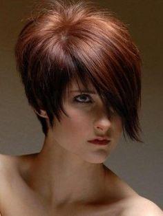 Kısa,Küt, Asimetrik Saç Kesimi Modelleri Kataloğu 2013