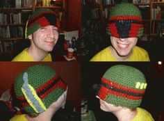 Boba fett warm hat... I think I know what I'm making hubby for anniversary now!! Shhhhhh