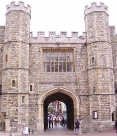King Henry VIII Gate at Windsor Castle - king-henry-viii Photo