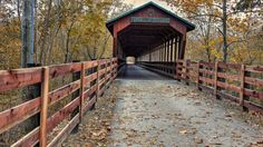 The Bridge of Dreams (Danville)  er railroad bridge was converted to a covered bridge. You will find it in the heart of Ohio's Amish Country, (in Knox County near Danville,) as well as a small park and a trail that is part of the Heart Of Ohio Trail