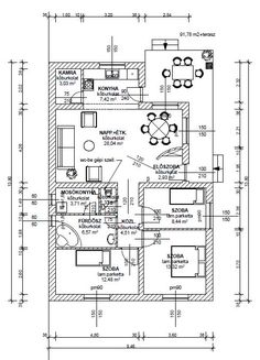 90 nm-es ház megrendelhető saját telekre 24,210.000,-Ft. - PannonHáz92 Family House Plans, Modern House Design, Floor Plans, How To Plan, House Ideas, Home, Facades, House Construction Plan, Ad Home