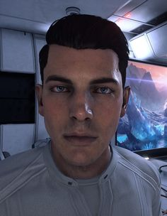 What if Alec told Scott to shave? 😱 Shaved Default Scott is now up on Nexus Mods. Mass Effect 1, Video Games, Fan, Memes, Videogames, Meme, Video Game, Hand Fan, Fans