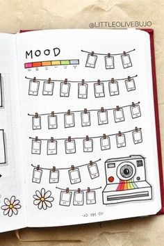 Bullet Journal Mood Tracker Setup & Adorable Inspiration Need som. - Bullet Journal Mood Tracker Setup & Adorable Inspiration Need some ideas to get the - Bullet Journal Tracker, Bullet Journal School, Bullet Journal Cleaning Schedule, Bullet Journal Banner, Bullet Journal Aesthetic, Bullet Journal Notebook, Bullet Journal Themes, Bullet Journal Spread, Bullet Journal Layout