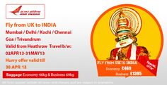 Cheap Flights to India, Flight Tickets to India from Flights to India